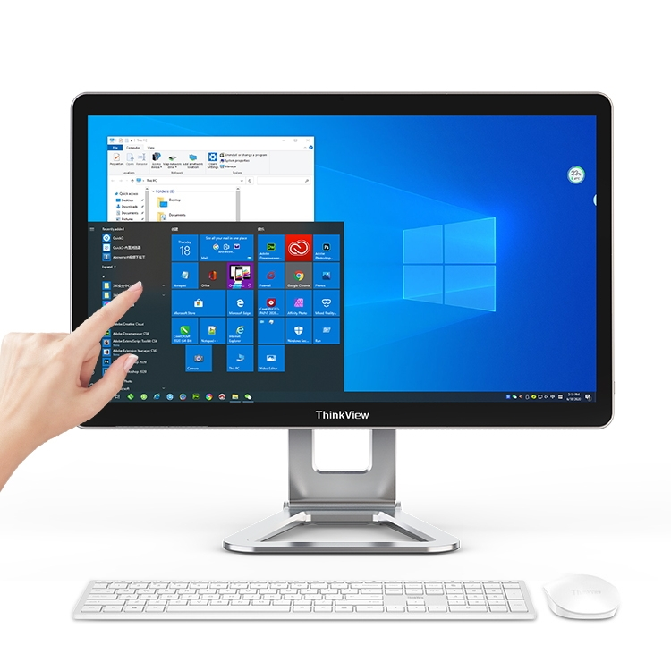 Full HD 21,5 inci dalam satu komputer